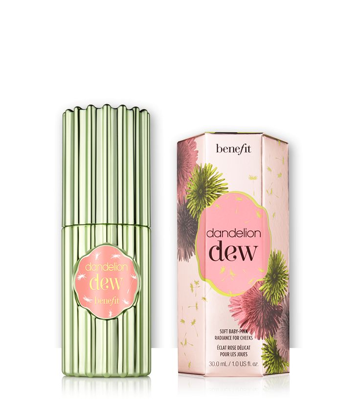 dandelion dew hero - soft baby pink radiance for cheeks