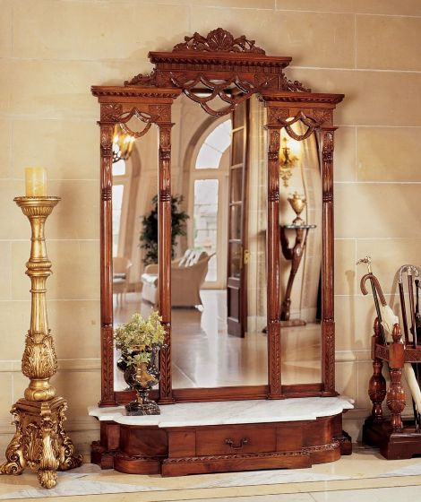 7 Traditional Hall Trees For Luxurious Entryway #interior #furniture