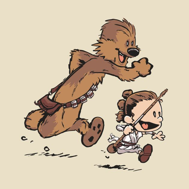 Calvin & Hobbes Star Wars - David Kopet