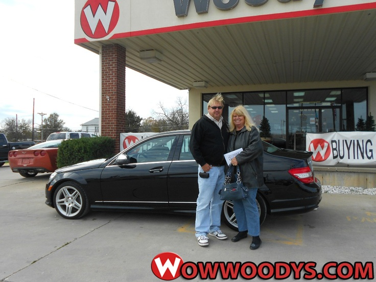 "Cleo Lane from Milan, Missouri purchased this 2008 Mercedes C350 and wrote, ""Polly was very great I would highly recommend friends to deal at Woody's!"" To view similar vehicles and more, go to www.wowwoodys.com today!"