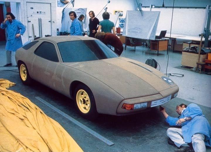 OG | 1977 Porsche 928 | Full-size styling clay model
