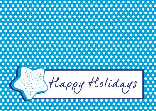 Happy Holidays Bag Topper Free Printable Specifically