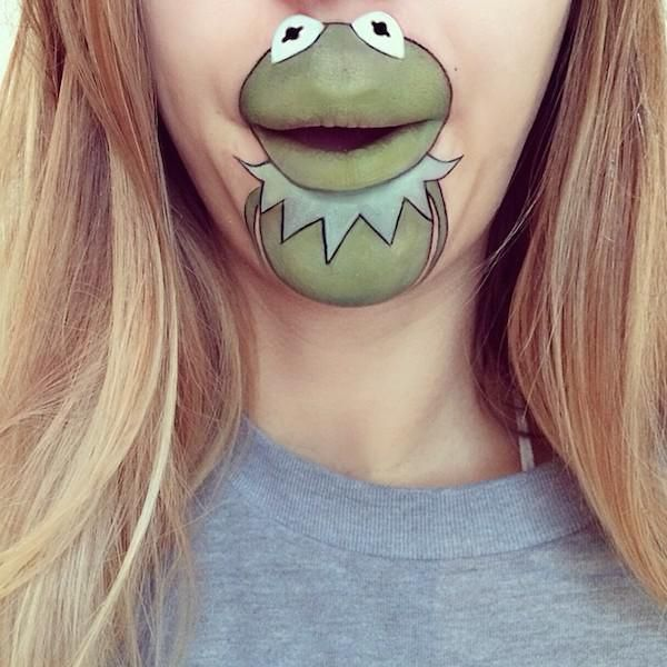 Best Lip Art Images On Pinterest Lip Art Lipstick And Makeup - Laura jenkinson mouth painting