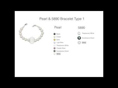 Pearl & 5890 Bracelet Type 1 - YouTube