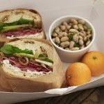 Roast Beef Sandwiches with White Bean Salad   - not much for roast beef sandwiches but the Bean Salad was too good