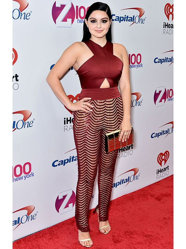 We Can't Look Away from Ariel Winter's Tricky, Zig-Zagging ...