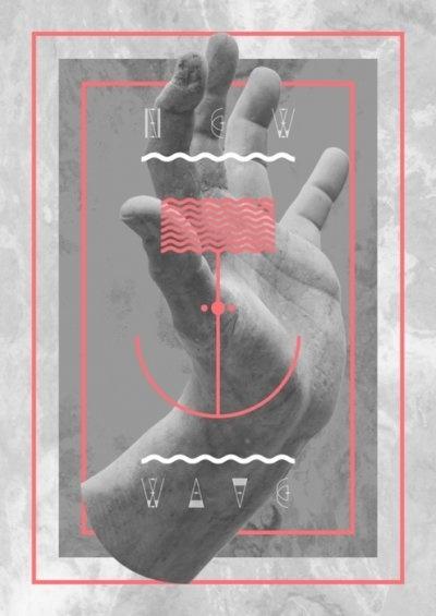 Donhkoland / Sky: Hands, Aurora Australi, Graphics Porn, Pablo Abad, Graphicdesign, Poster, Graphics Design, Lancia Trendvi, Australi Typefac