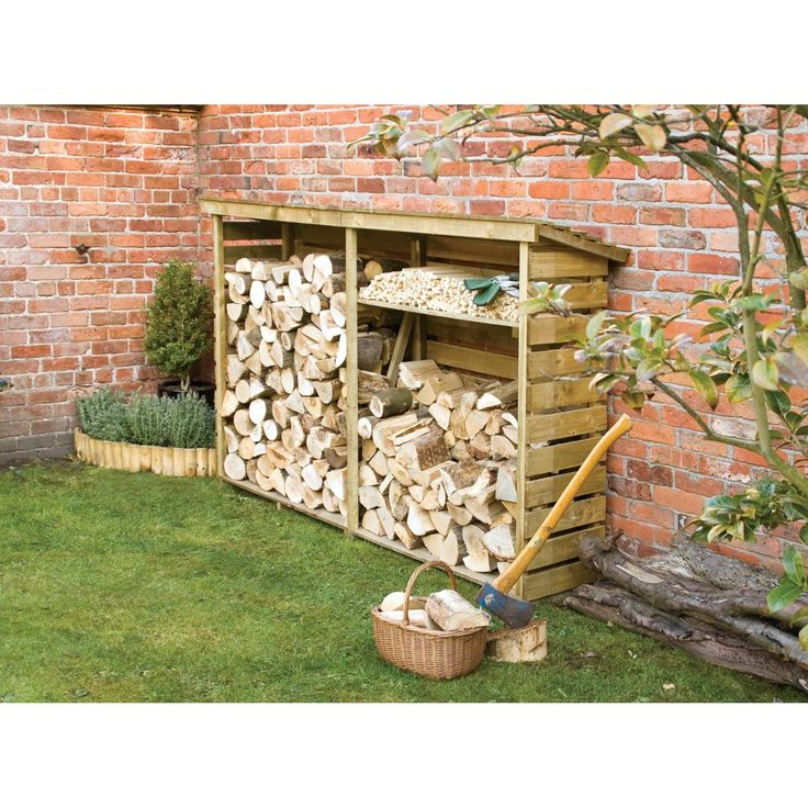 Manufactured to exacting standards, this quality log store prove a valuable addition to any outdoor space and is perfect for keeping firewood dry and tidy. Description from ebay.co.uk. I searched for this on bing.com/images