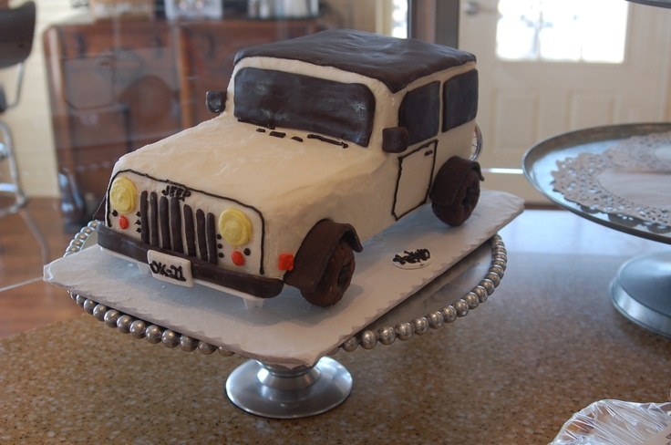Only In A Jeep Cakes We Ve Baked Pinterest Cute