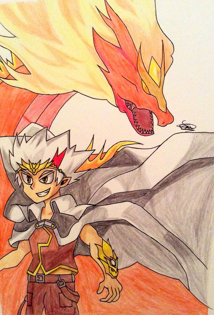 Ryuga from beyblade metal fight