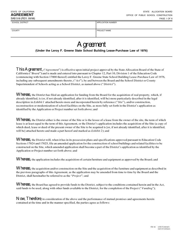 8 best Agreement Samples images on Pinterest Infographics - performance agreement contract