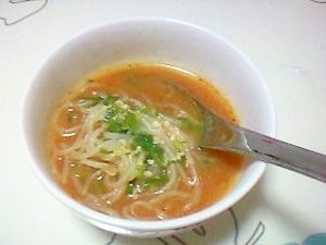 白滝の味噌スープ++(ダイエットラーメンにも♪)