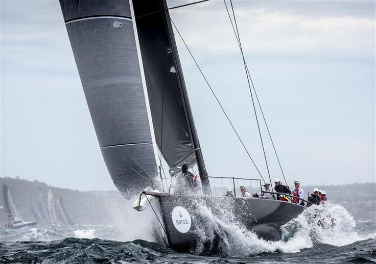 RUPERT HENRY'S JV62 CHINESE WHISPER (AUS) IS THE FORMER JETHOU (GBR) Photo: Rolex / Kurt Arrigo