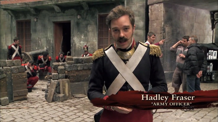 Hadley Fraser!!! He should have had a bigger part!