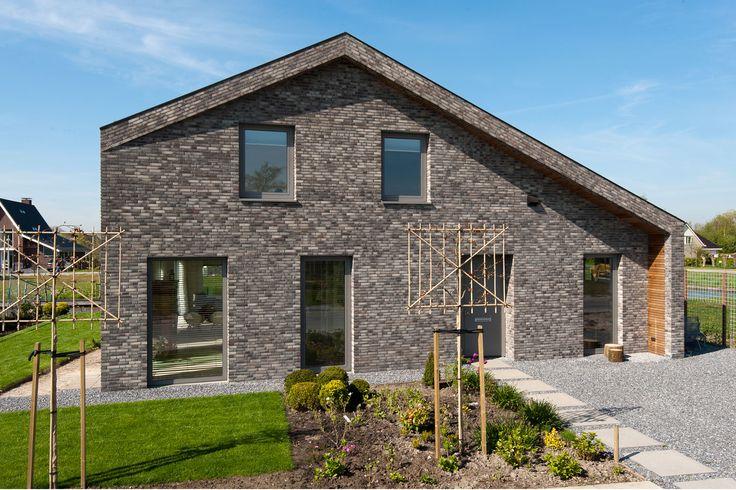 Grey brick facade   architecture   Nieuwkoop Zuidhoek