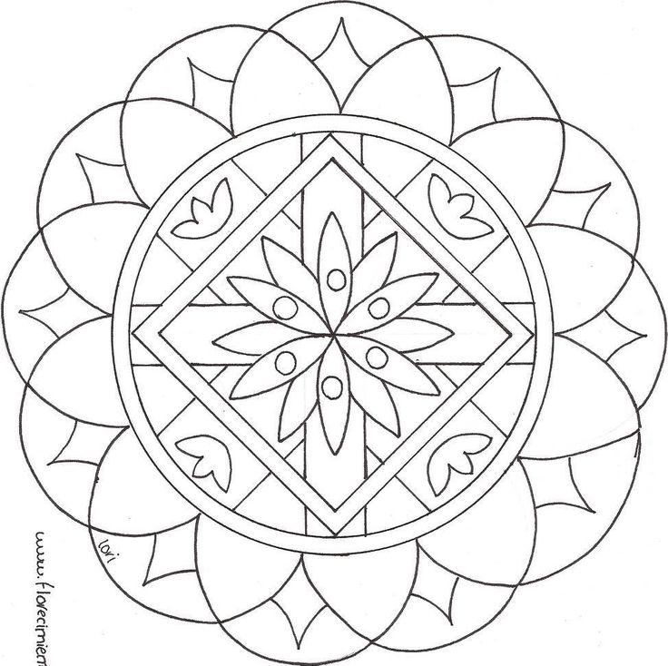 Zen Anti Stress Mandalas