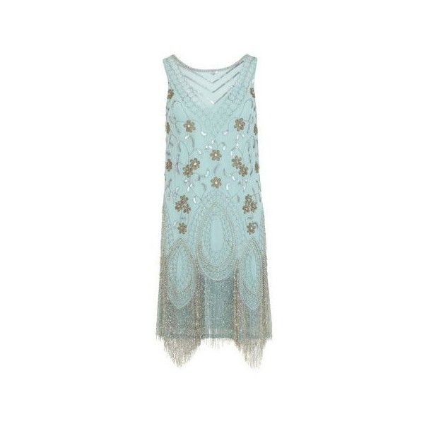 Great Gatsby Dresses for Sale ❤ liked on Polyvore featuring dresses, sparkly cocktail dresses, 1920s dress, beaded fringe dress, feather cocktail dress and 1920s gatsby dress