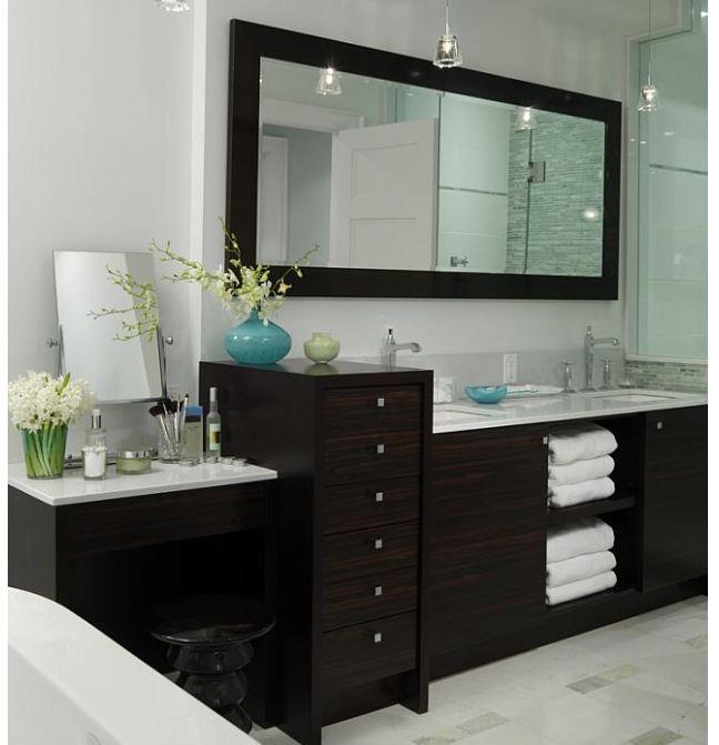 Lovely Dark Vanity Bathroom Ideas