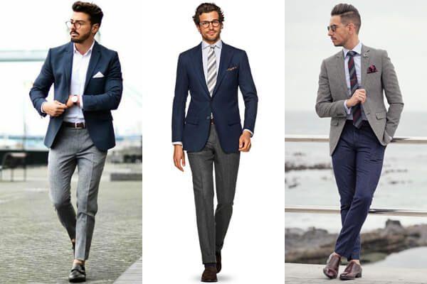 7 Suit Separates Combinations for Men - Suits.com.au | Grey suit  combinations, Suit combinations, Mens fashion suits business