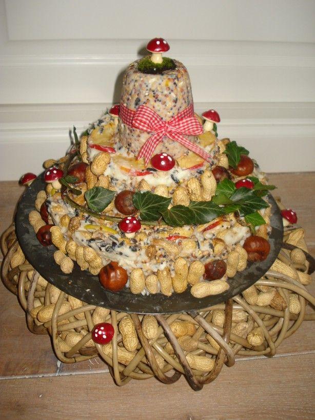 Heerlijke+taart+gemaakt+voor+de+vogels!