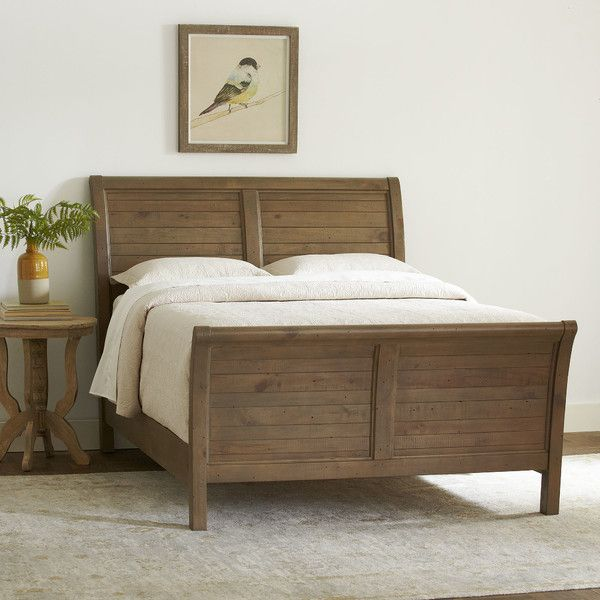 Best Birch Lane Seneca Sleigh Bed Birch Lane Furniture 400 x 300