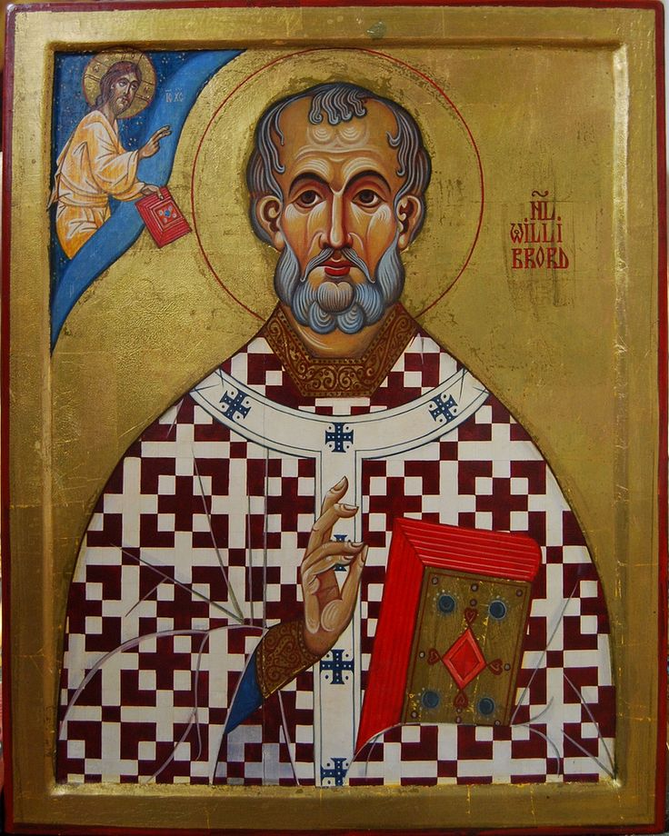 St. Willibrord Apostle of Friesland, Holland