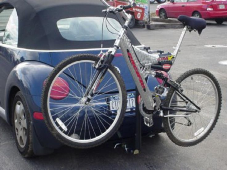 volkswagen new beetle convertible trailer to carry bicycles - Google Search | Bicycle Rack for ...