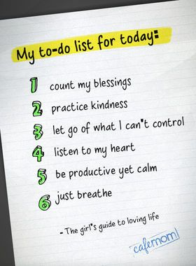 A mom's to-do list. http://thestir.cafemom.com/being_a_mom/150896/12_quotes_about_motherhood_that
