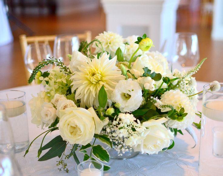 #秋 #ウェディング #結婚式 #テーブル装花 #ダリア