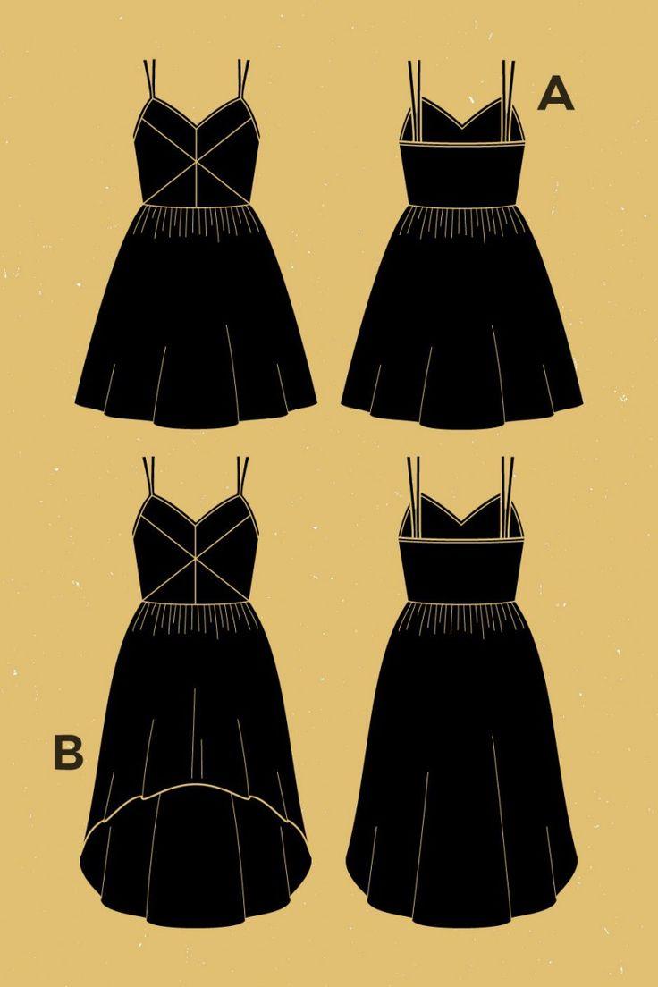 Centaurée Dress Pattern