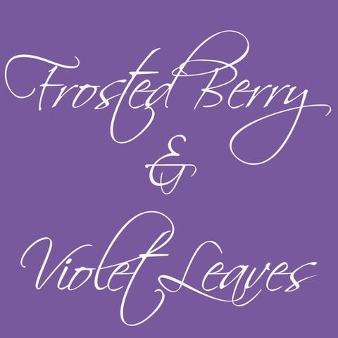 Soy Melt - Frosted Berry and Violet Leaves