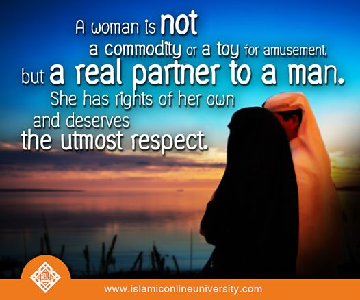 islam and women Bulletin board: a post from the community | women's history month is the  honorary observance of the month of march, as designated in 1987.