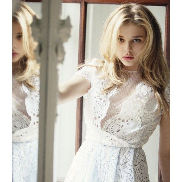 Chloe Moretz in Marie Claire, March 2013 ❤ liked on Polyvore featuring imagens, pictures, chloe, chloe moretz and models