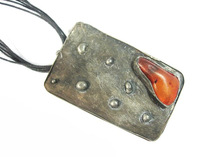 sOWLshine handmade jewelry - necklace with amber
