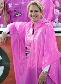 Our limited edition pink poncho famously seen at the Field of Women LIVE 2010 ceremony in Melbourne at the MCG in 2010 is a great souvenir if you attended the event.