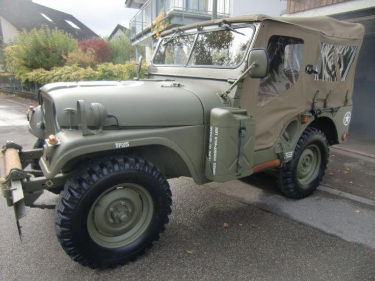 Jeep Willys M38A1 (MD) als Geländewagen/Pickup in Ismaning bei München
