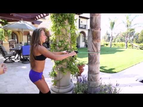 You dont need a gym to get in shape! Just follow Lauren and Jens moves and learn a new full-body exercise routine that can be performed at home, or during your holiday travels, using only your body-weight and minimal easy-to-pack equipment.    Stay tuned for 10 different 20-30 minute exercise routines this holiday season!