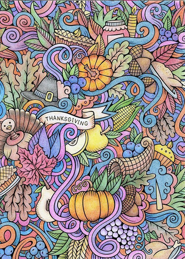 NOVEMBER COLORING SESSION FOR ADULTS