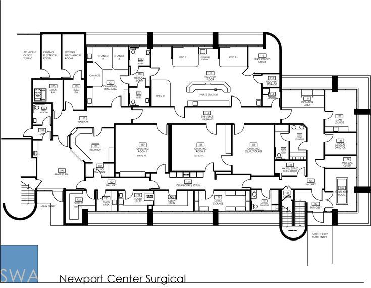 oshpd 3 ambulatory surgery center 3 operating rooms with flad architects orthopedic and sports institute