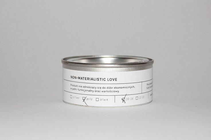 NON-MATERIALISTIC LOVE | rings | Mortis Design