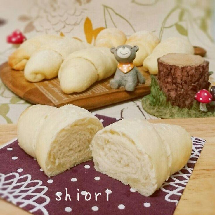 ☆ レンジ発酵*1時間で捏ねないフワフワ塩パン&新しい趣味*ポーセラーツ♪。   Vie confortable de Shiori