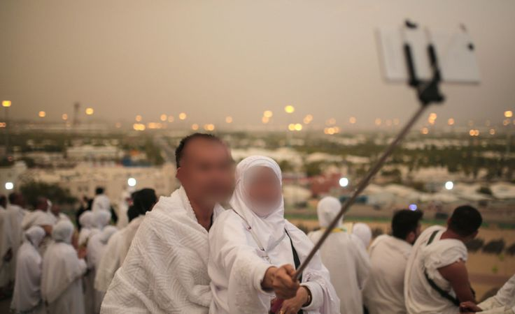 The Haj selfie: a sign of the times or should phones be left at home?