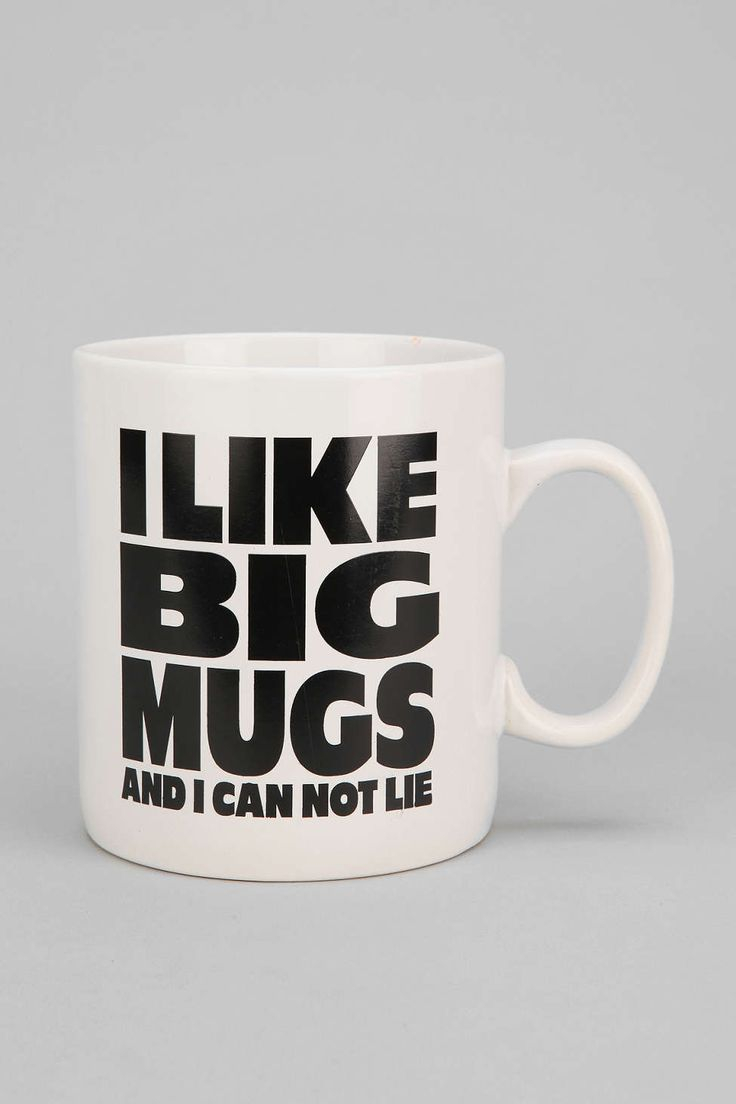 I Like Big Mug - Urban Outfitters