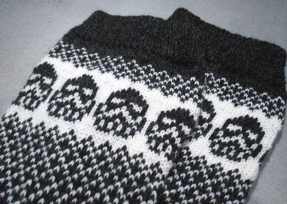 Darth Vader knitted socks wool socks Star Wars pattern Fan