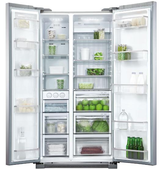 Fisher & Paykel 628 Litre Side-By-Side Fridge Freezer $2159.20 from Noel Leeming