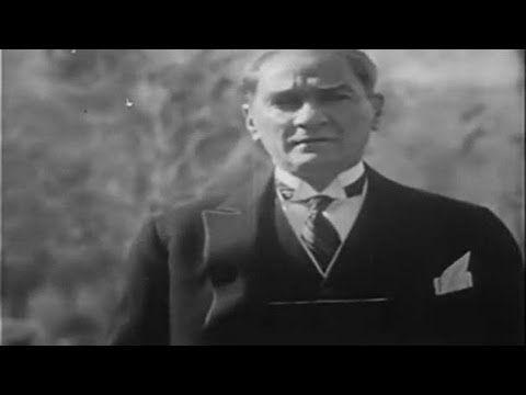 Atatürk'ün En Net Ses Kaydı - YouTube