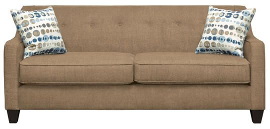 Axis Taupe Sofa - Art Van Furniture