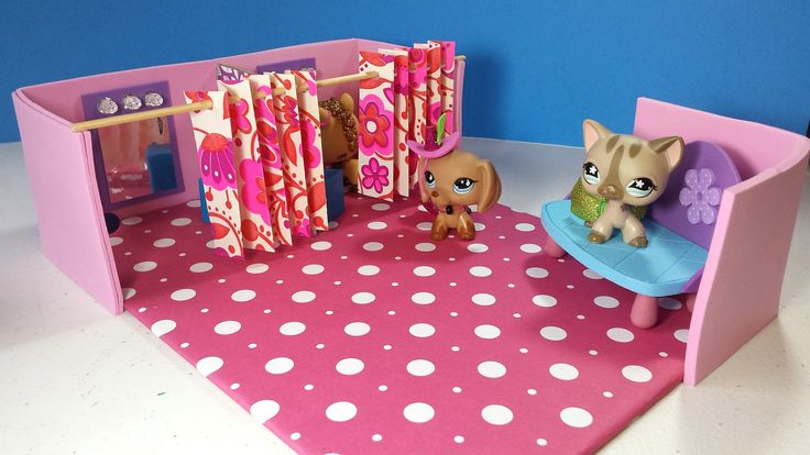 DIY LPS or MLP Doll Dressing Fitting Room