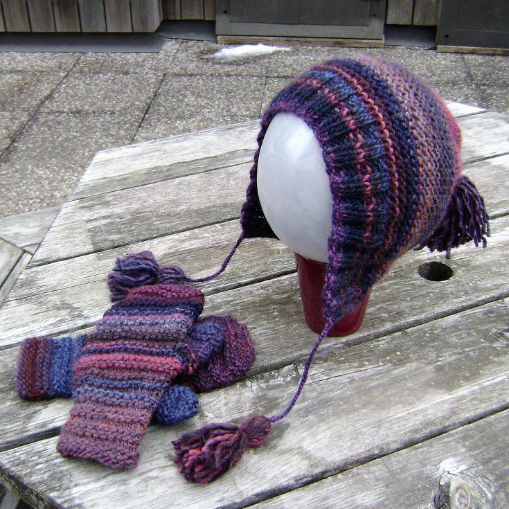 Capucine Hat and Rad Mitts
