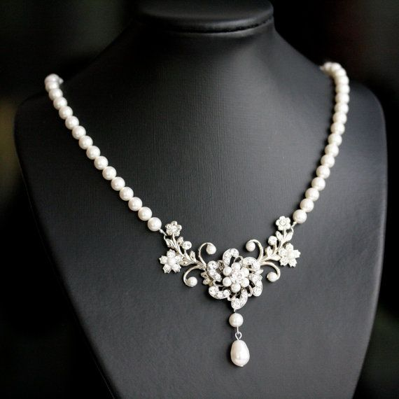 Indiangoldesigns Com Beautiful Antique Bridal Necklace: Best 20+ Pearl Necklace Vintage Ideas On Pinterest